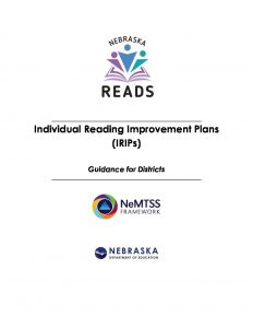 Individualized Reading Plan Guidance Document doc.